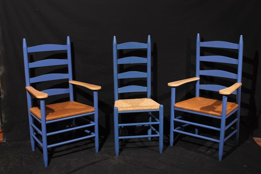 Custom Shaker Ladder Back Chairs