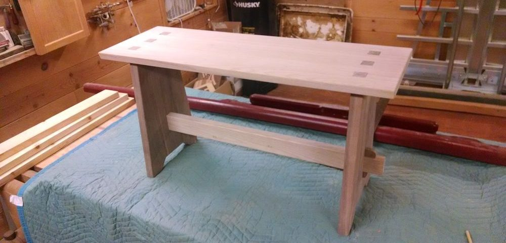Custom Bedroom Bench
