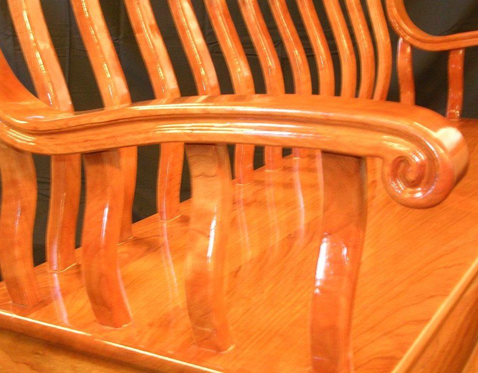 Custom Foyer Bench