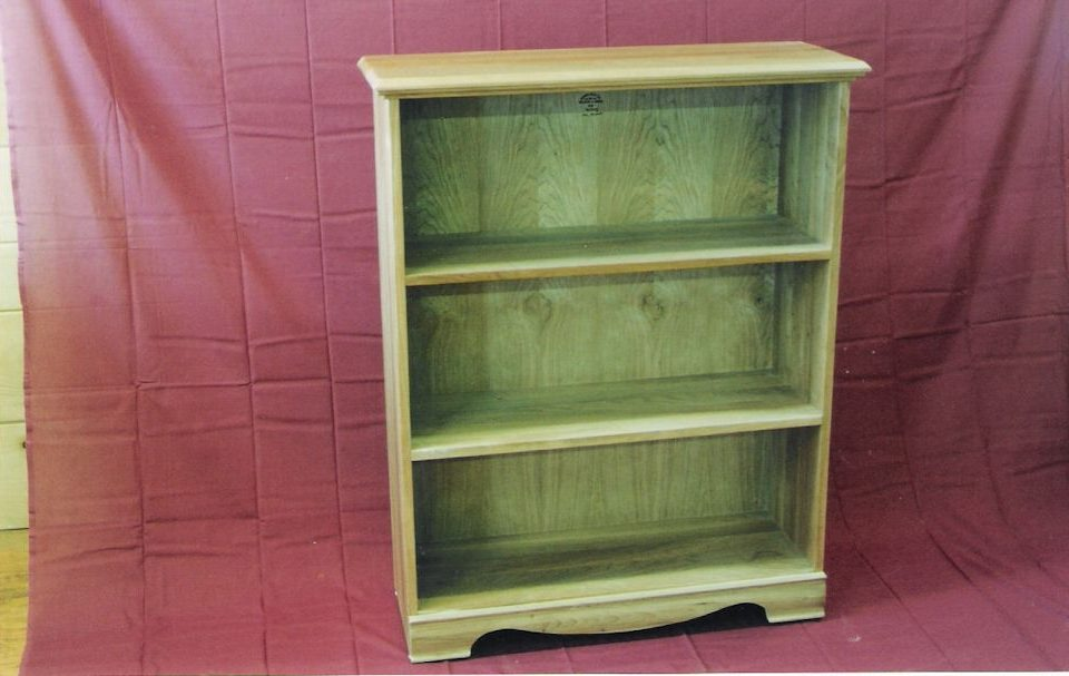 Custom Oak Bookshelf