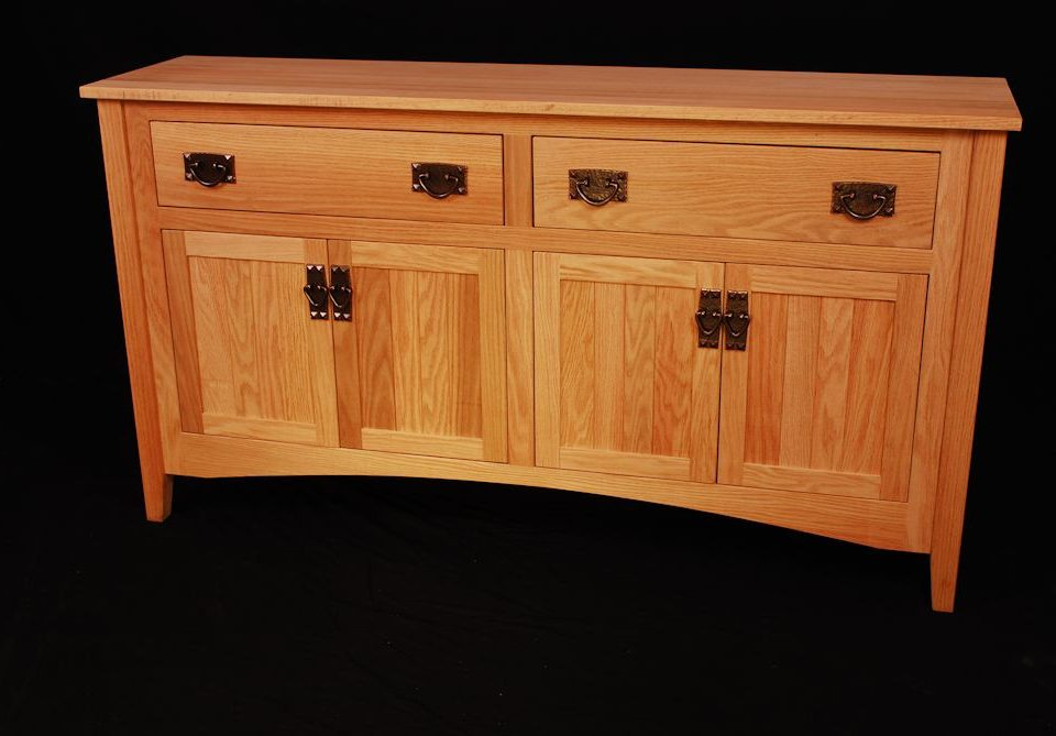 Custom Oak Buffet
