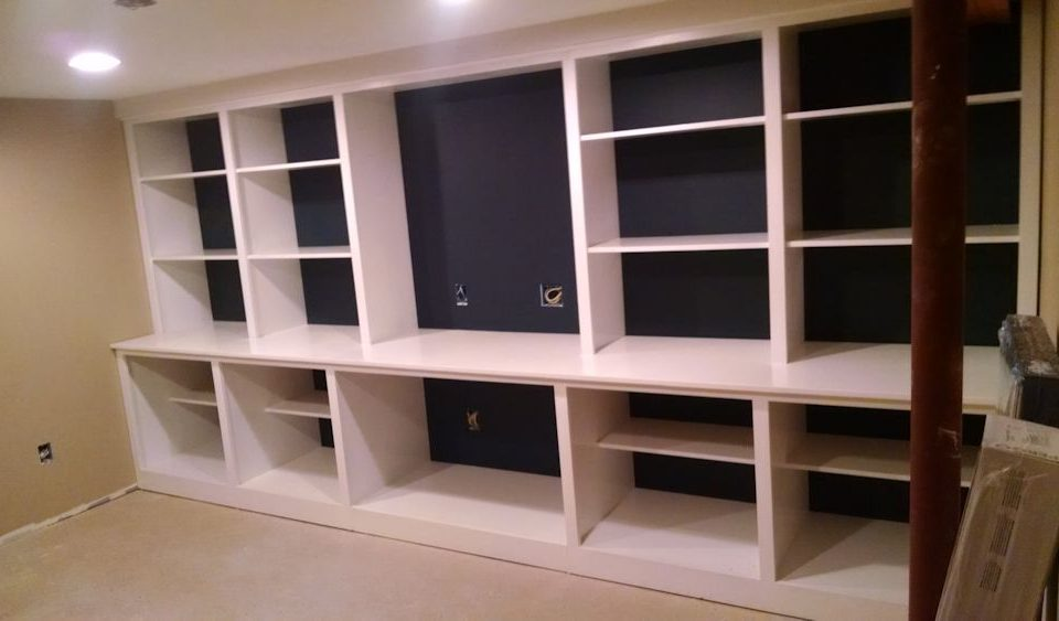 Custom Office Bookcase