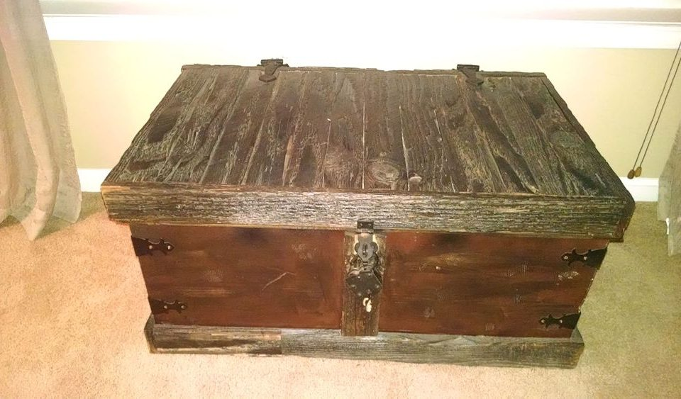 Custom Old-Look Blanket Chest