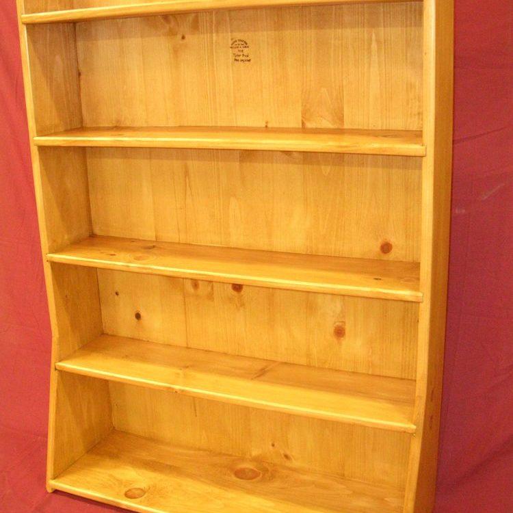 Custom Pine Bookshelf