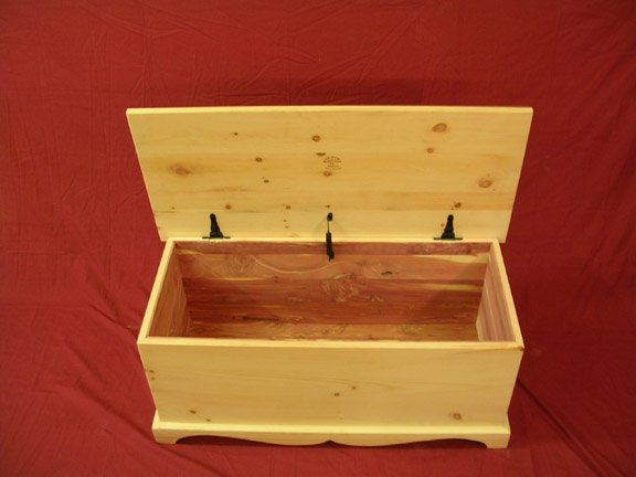 Custom Cedar lined Pine Chest