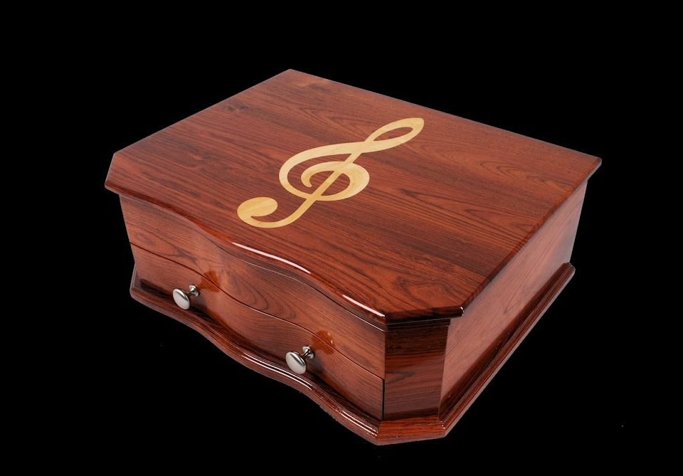 Custom Rosewood Silverware Chest