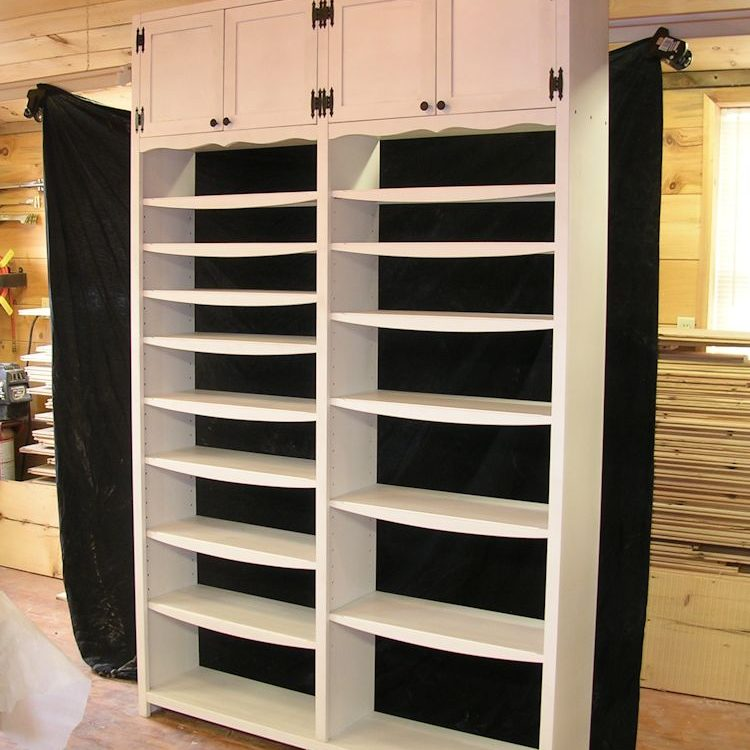 Custom Tall Bookcase