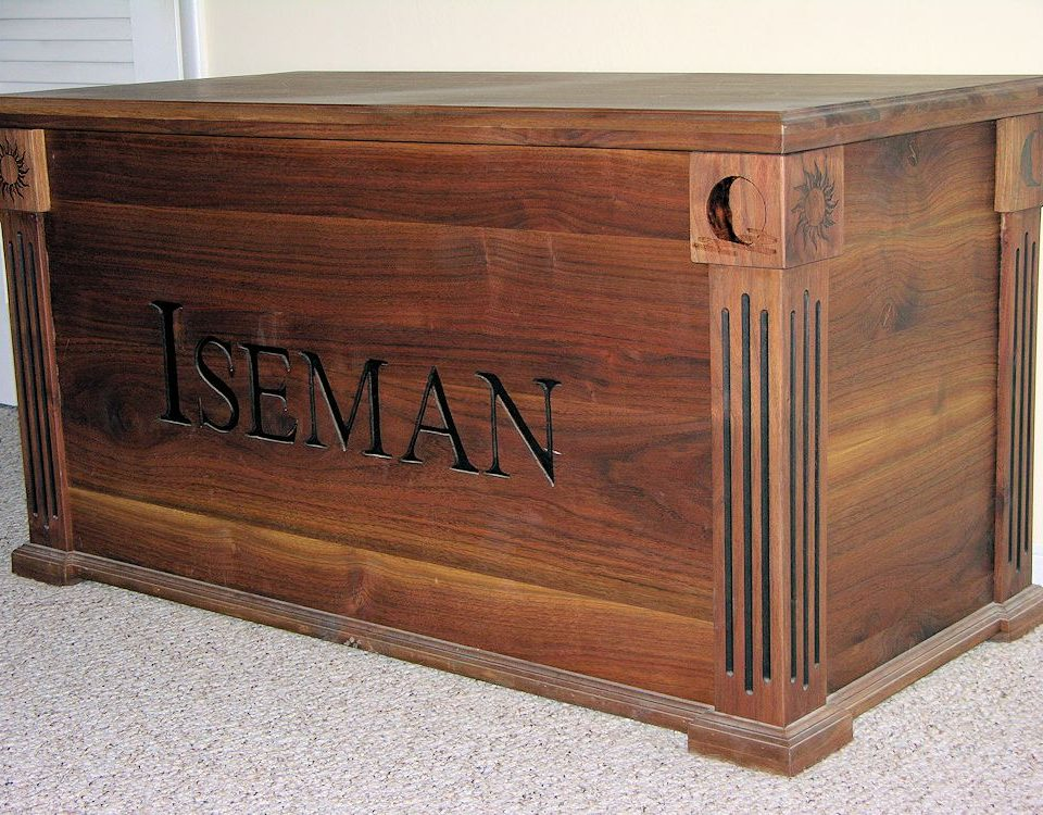 Custom Walnut Cedar Chest