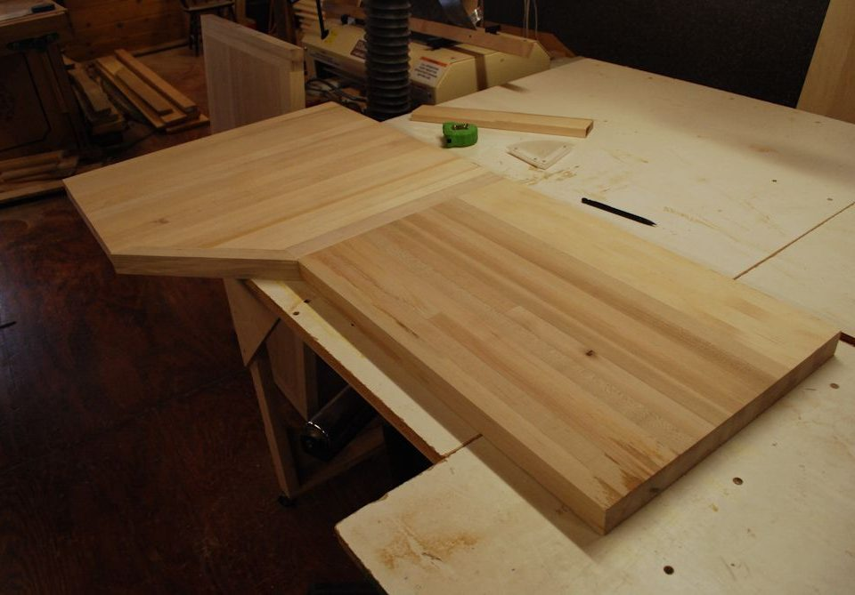 Custom Maple Butcher Block Counter Top