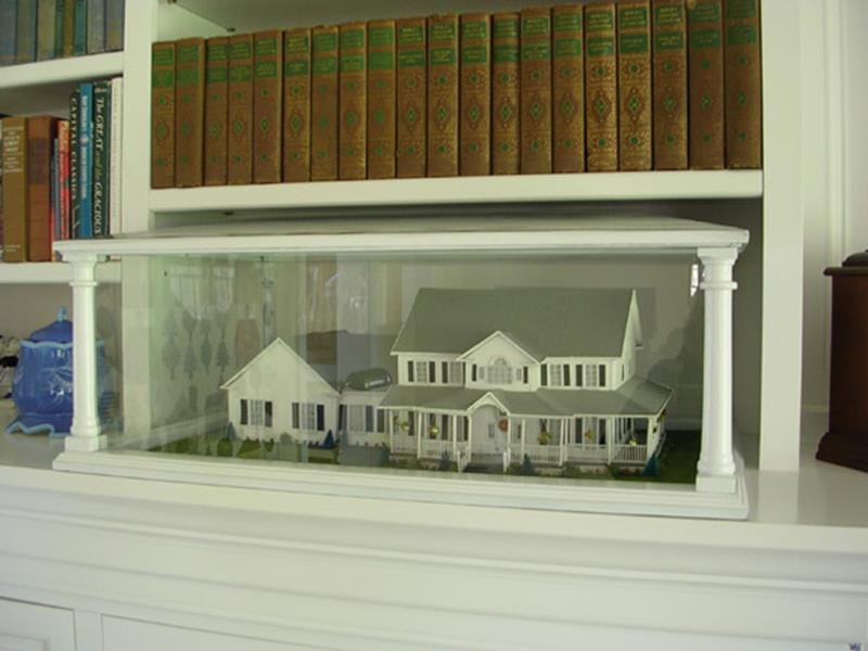 Custom Model House Display Case