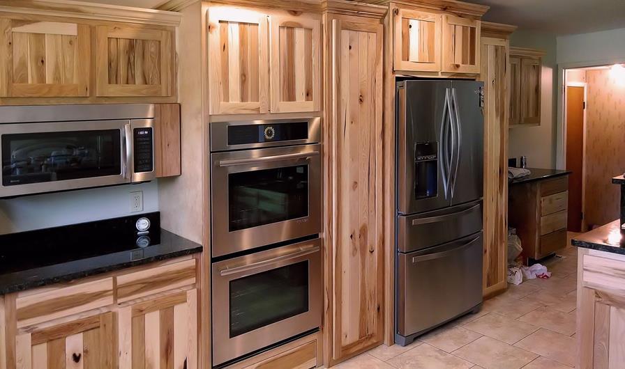 Custom Hickory Kitchen Saratoga County Charlton Ny