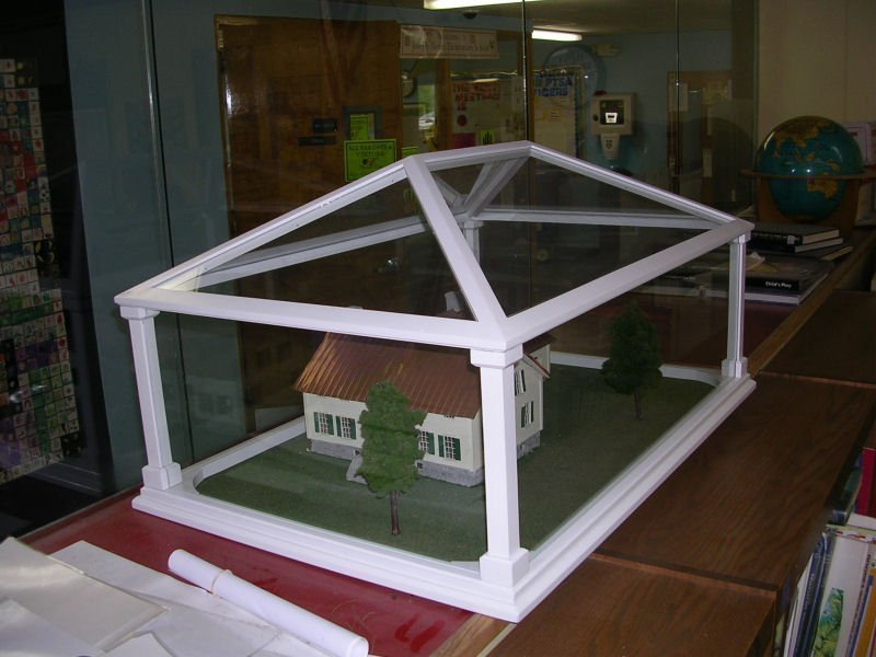 Custom Model House Display