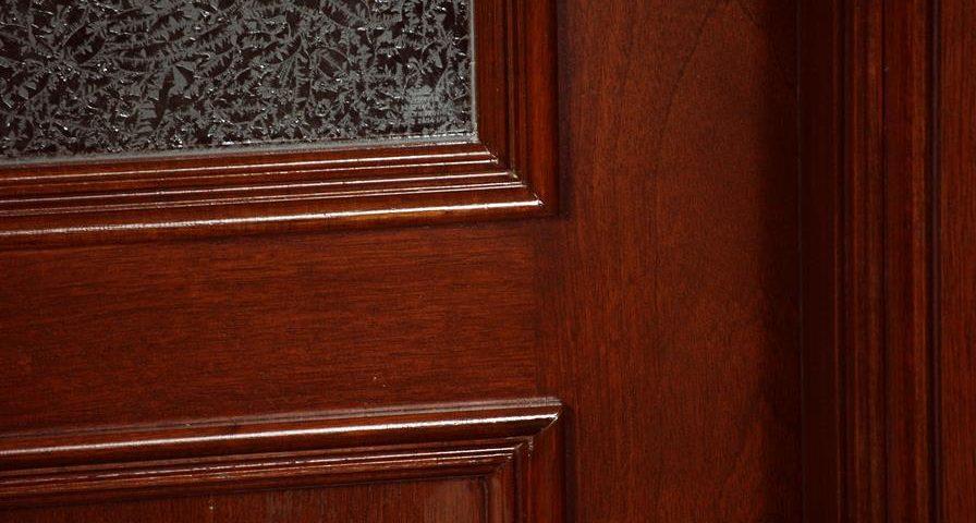 Custom Mahogany Entrance Doors