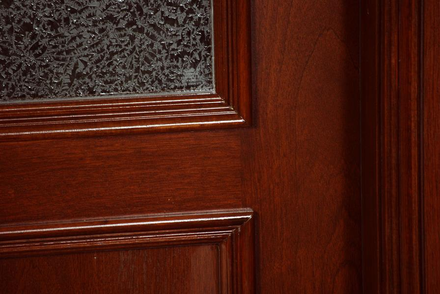 Custom Mahogany Entrance Doors
