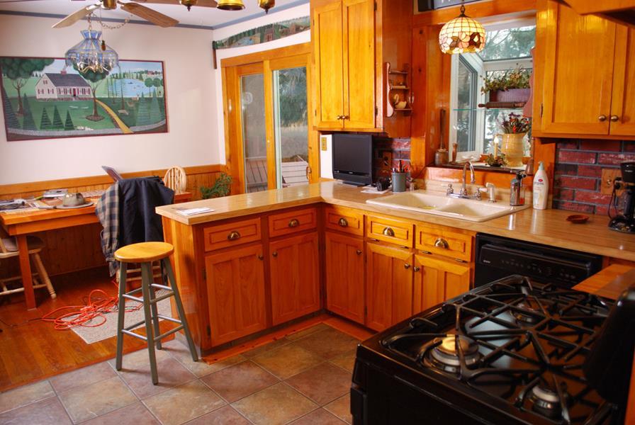 Custom Pine Kitchen, Saratoga County, Charlton NY