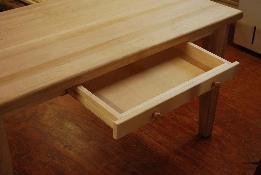 Custom Butcher Block work bench