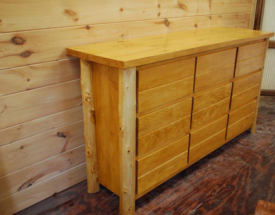 Custom Adirondack Dresser
