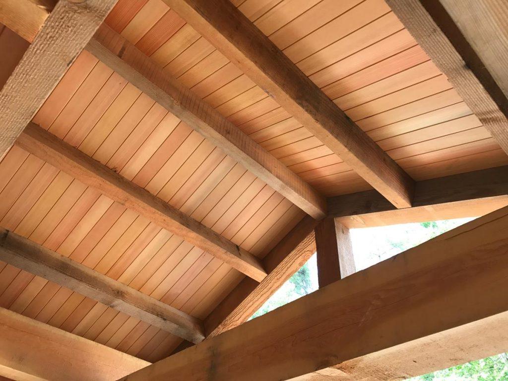 Custom Douglas Fir Ceiling Saratoga County Charlton Ny