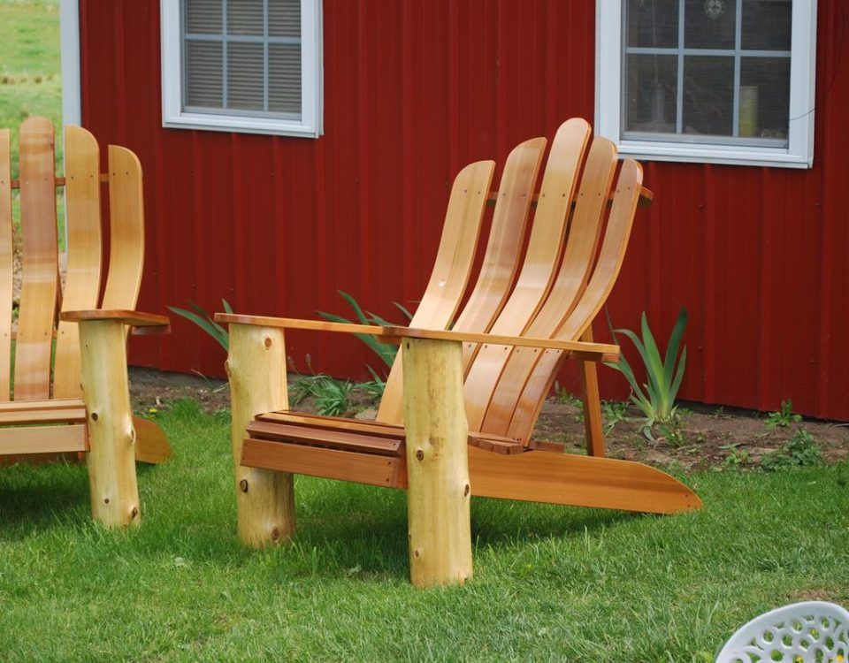 Custom Fitted Adirondack Chair