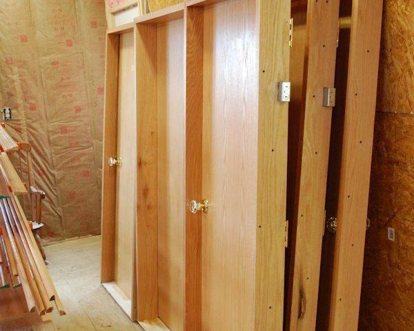 Custom pre-hung Slab Doors