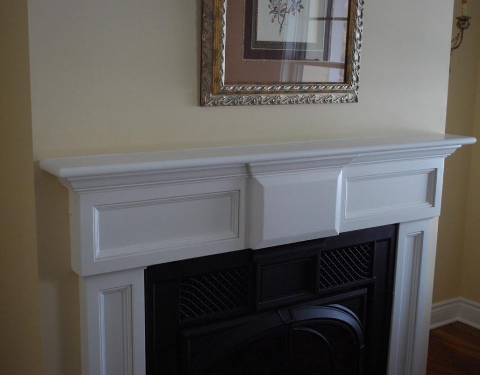 Custom Elegant Fireplace Surround