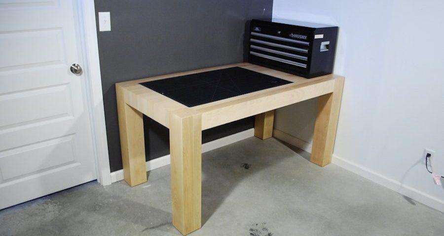 Custom Maple Work Station Desks