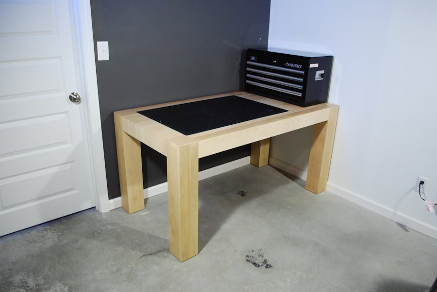Custom Maple Work Station Desks