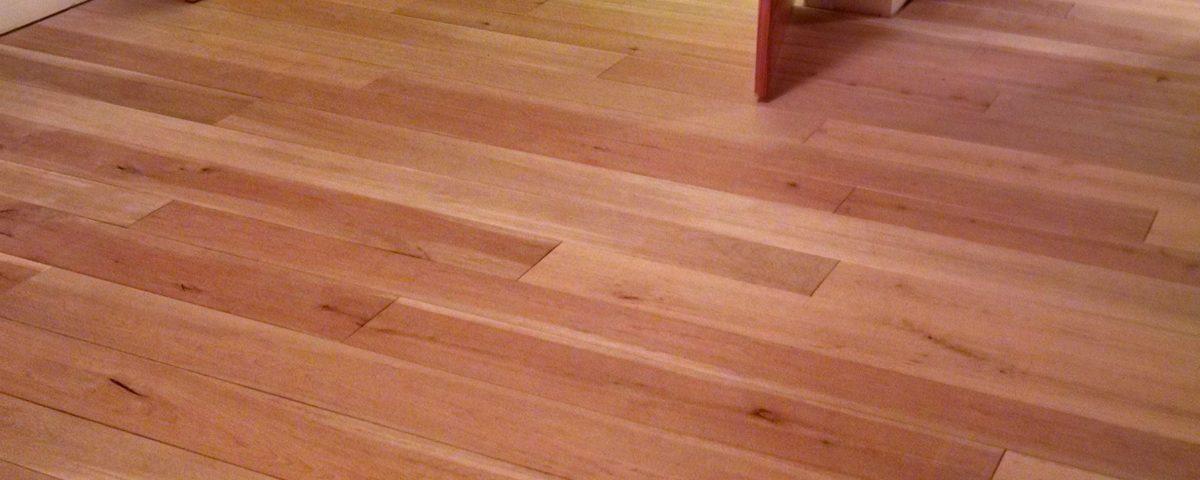 Custom Wide Plank Birch Floor