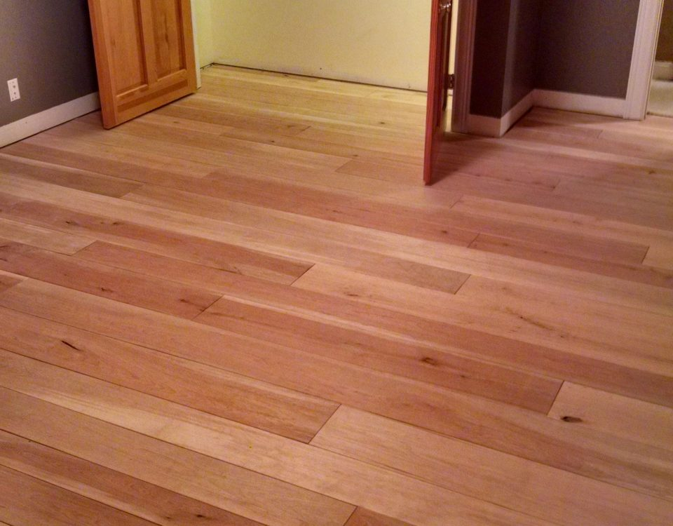Custom Wide Plank Birch Floor