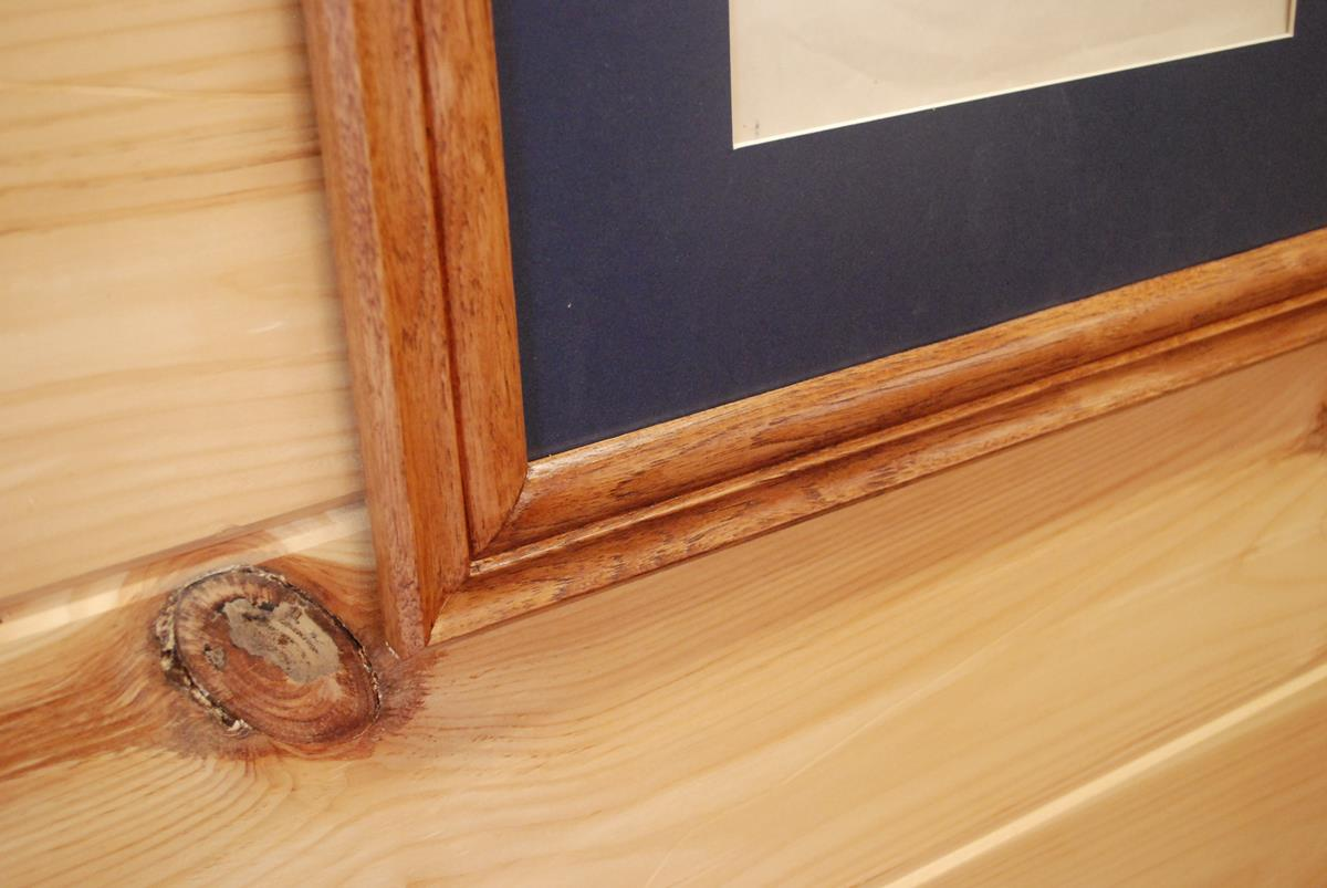 Custom Hickory Frames With Matting Saratoga Ny