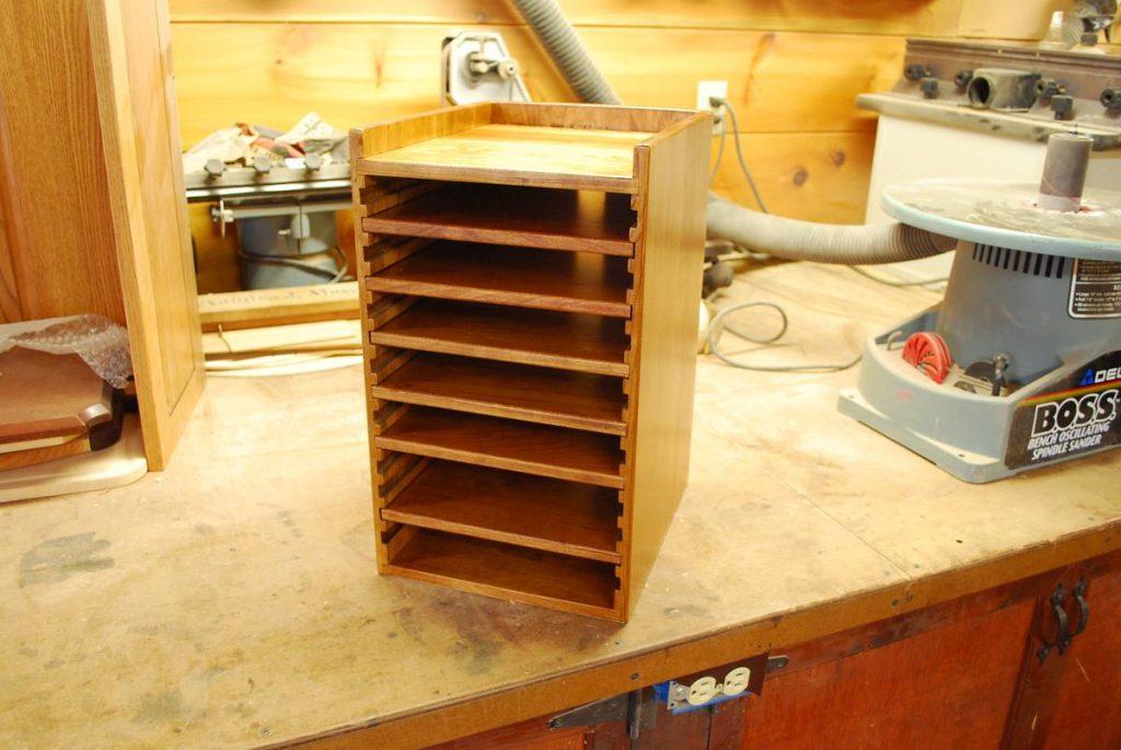 Custom Wood Hard Drive Tower Saratoga County Ny