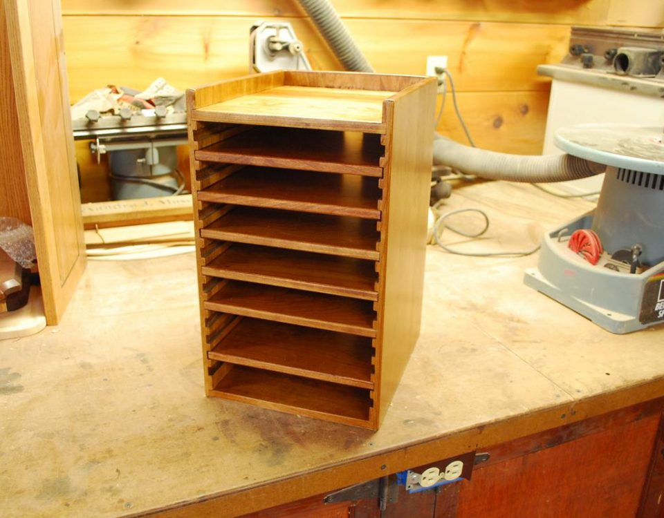 Custom Wood Hard Drive Tower