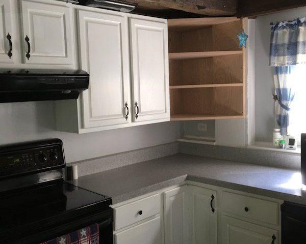 Custom Matching Oak Kitchen Cabinets, Saratoga NY
