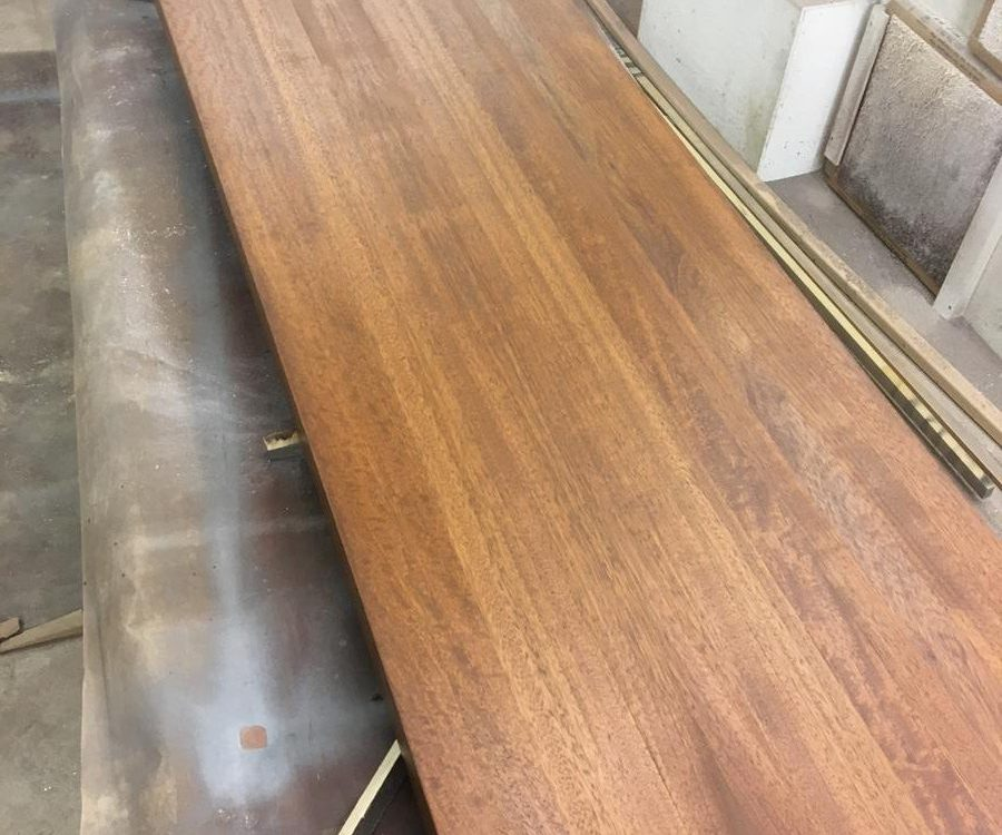 Custom Brazilian Cherry Counter Top