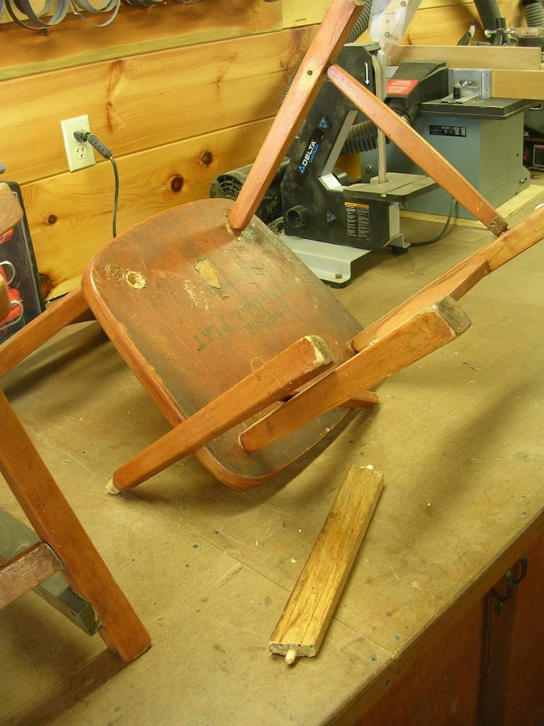 Chair Repair/Refinish Project Capital District, Saratoga NY