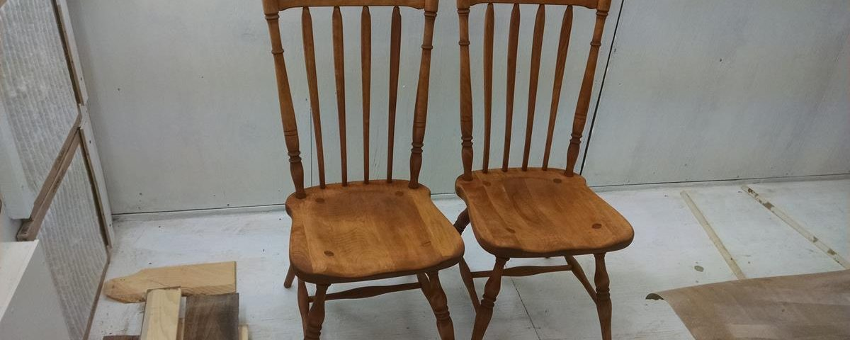Chair Refinishing & Chair Refinish Project Capital District Saratoga NY