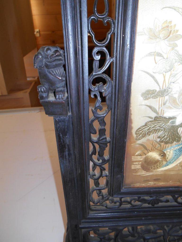 Custom Asian Art Piece Repair Saratoga County Ny