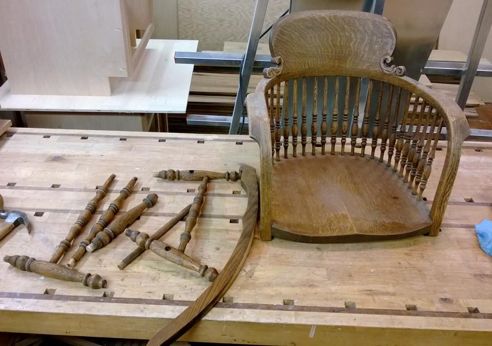 Repair, Rocking Chair