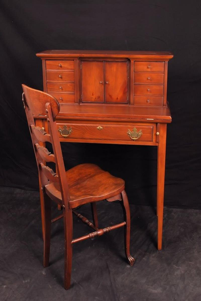 shop victorian the edwardian product antique inlaid desk georgian writing mahogany furniture