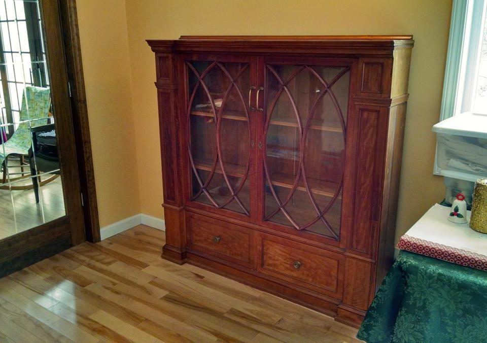 Antique Bookcase Refinish