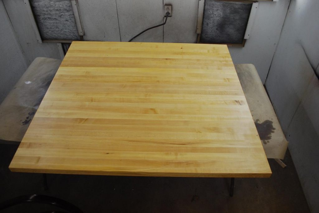 Refinishing Butcher Block Kitchen Table : Butcher Block Counter Top Refinish, Capital District, Saratoga NY