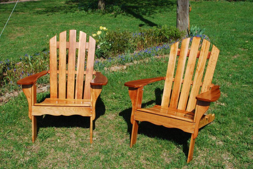 Cherry Adirondack Chairs Refinish