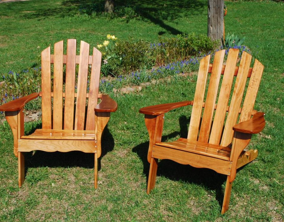 Cherry Adirondack Chairs Refinish