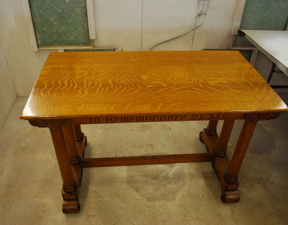 Communion Table Refinish