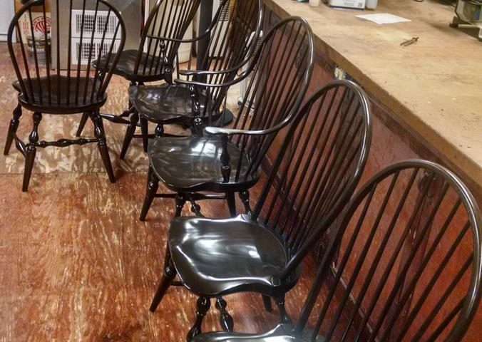 Dining Chairs Refinish
