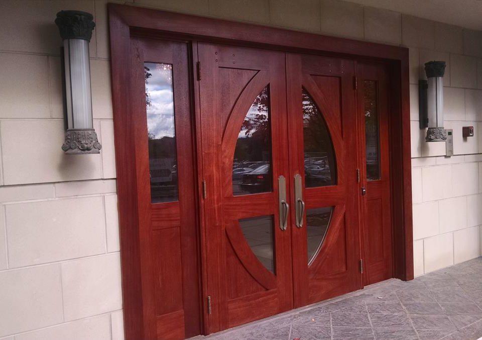 Entry Doors Refinish
