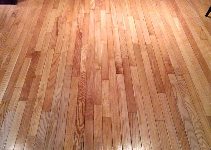 Oak Floor Refinish