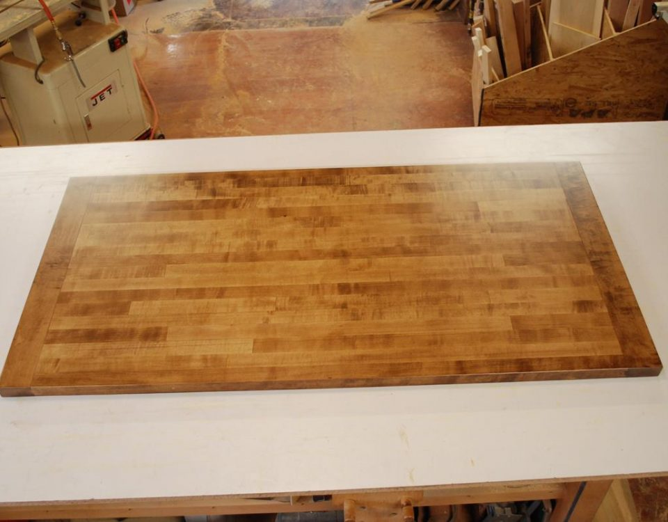 Custom Aged Maple Counter Top