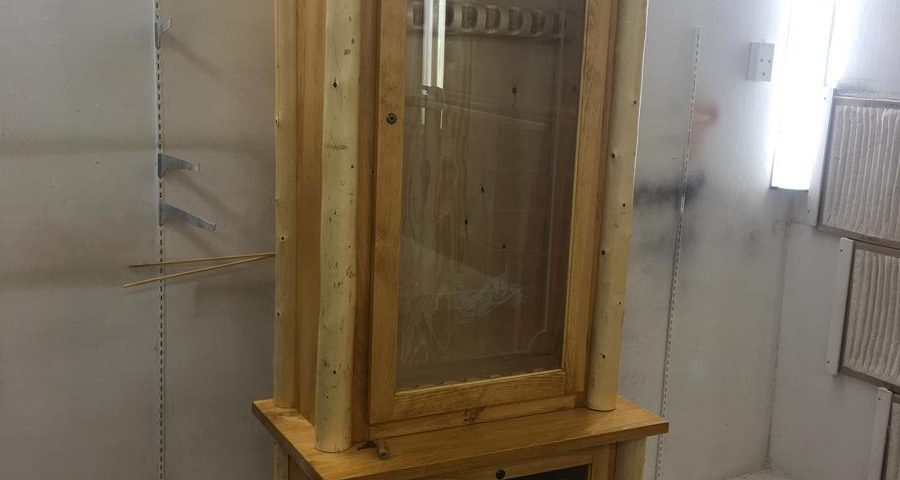 Custom Adirondack Gun Cabinet
