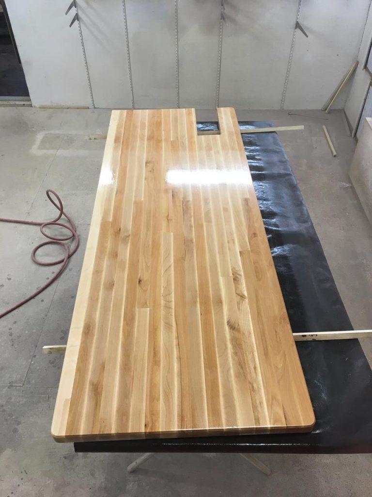 Custom Beech Counter
